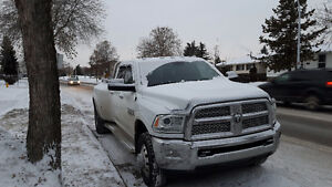 2013 Ram 3500 Laramie dually loaded only 30000kms