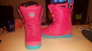 thirty two hot pink boots size 8.5