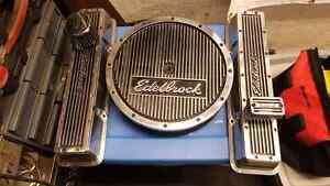 Sbc 350 383 400 305 edelbrock valve cover kit