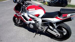 1999 - 2002 YAMAHA YZF R6 OEM USED PARTS