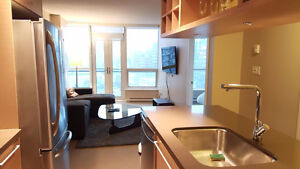 Furnished 1 bdrm + den condo at The Capitol Residences! Downtown-West End Greater Vancouver Area image 3