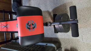 Weight bench set