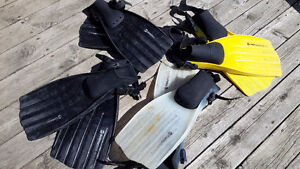 New  & Used Scuba Fins for sale