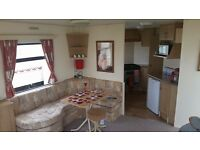 Bookings for next year caravan hire Whitley bay