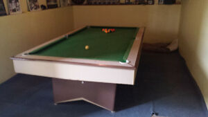 4x8 Brunswick Pool table and Ping Pong table for sale