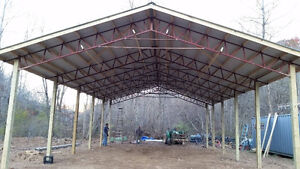 Steel Fabricated Trusses
