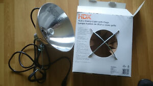 HDX 10.5INCH CLAMP LIGHT WITH CAGE