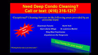 FILIPINA Condo Cleaning - TRY AND DISCOVER MAGIC! (416) 316-1217