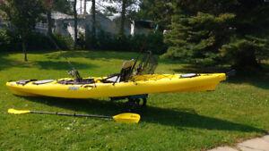 Kayak de Mer Jackson Cuda 14' pour la pêche