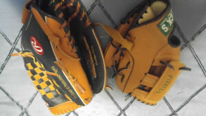 Baseball Gloves brand new never used!! Kids glove also!