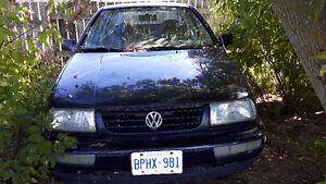 1996 Volkswagen Jetta Blue Other