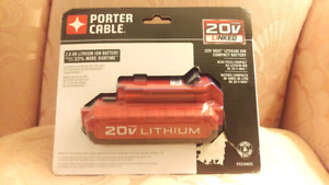 Porter-Cable 20-Volt MAX* 2Ah Lithium-Ion Power Tool Battery