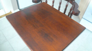 RESTAURANT TABLES w CHAIRS SOLID EXC.Condition