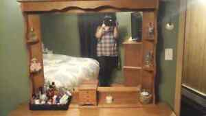 Woman's dresser  with mirror