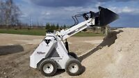Mini loader / skid steer for rent