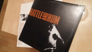 U2 LP Rattle and Hum  (double album)  Mint