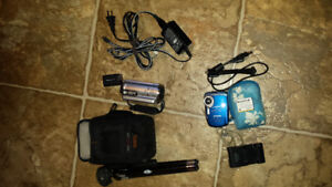 Camcorder/video camera $120. For both