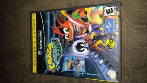 Nintendo Gamecube Crash Bandicoot