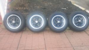 4 pneu et mags