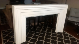 White Fireplace Mantel (or paint to whatever colour you desire)