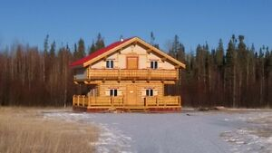 140acres with cabin for sale.