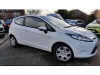 2010 White Ford Fiesta Edge 1.25*One Owner*Very Good Condition