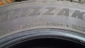 Used Blizzak Winter Tires Cambridge Kitchener Area image 3