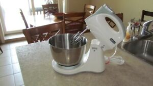 Sunbeam Mixer with Stand, mixer, stainless bowl