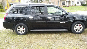 2004 BLACK ENVOY XUV