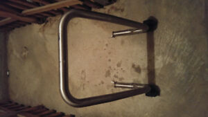 Motorcycle Front and Rear bike stand in great shape!! NEED GONE