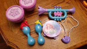Ariel Music Set and Ariel Toy