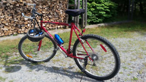 21 speed  peugeot mountain bike for sale (always kept inside)