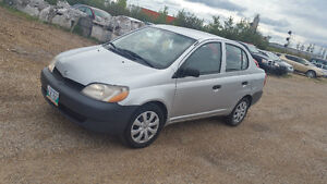 2002 Toyota Echo Sedan SOLD