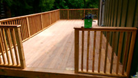 All decks all materials wood or composite