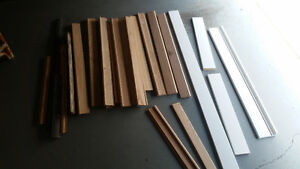 Miscellaneous pieces of finishing trim