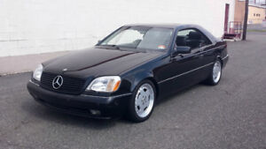 1995 Mercedes-Benz CL-Class Coupe (2 door)