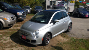 2012 Fiat 500 sport safety included
