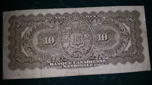 1929 10$ bill in excellent condition for the year only 325$..... London Ontario image 4