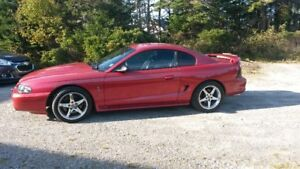 1998 Ford Mustang cobra Coupe (2 door)