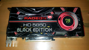 Radeon HD 5850 Black edition