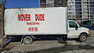 Mover Dude Moving Services- Over 15 years experience!