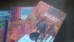 Five Trixie Belden Books, Julie Campbell, Kathryn Kenny, Hardcov Kitchener / Waterloo Kitchener Area image 2