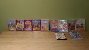 DVD Fraisinette, Barbie, Baby Einstein