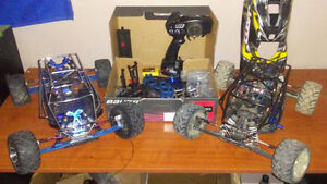Traxxas jato 3.3 and upgraded roller