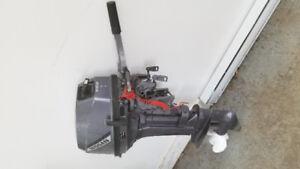 Moteur hors bord nissan 9.9 hp short shaft