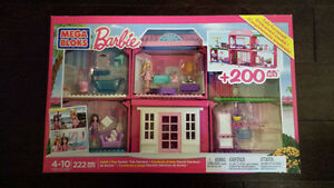BRAND NEW Barbie build n play fab mansion London Ontario image 1