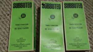 Subbuteo - vintage soccer table game