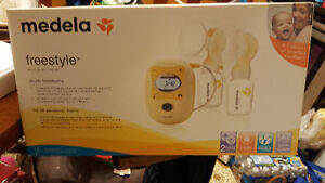 Brand new never open Medela double breast pump