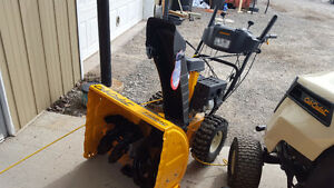 "Used Snowblower - 2014 Cub Cadet 24"" Walk Behind Snow Blower"