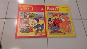 Livres et revues vintage Disney